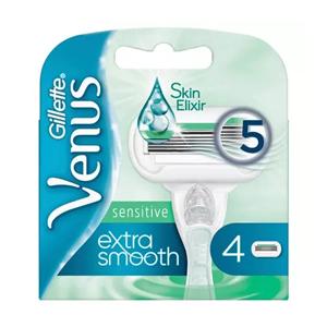 Gillette Venus Extra Smooth Sensitive Rakblad 4-pack