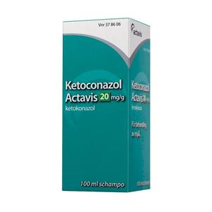Ketoconazol Actavis Schampo